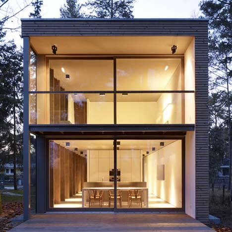 Minimumhouse by Scheidt Kasprusch Architekten