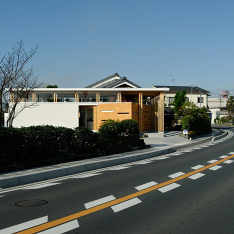 Monostruct Office by Masato Sekiya