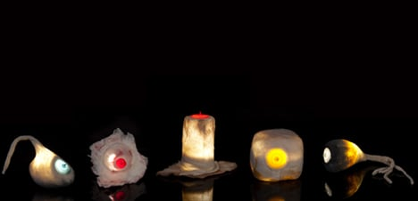 Nipple lights by Naama Arbel