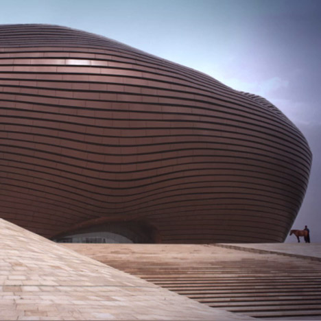 Dezeen Screen: Ordos Museum by MAD