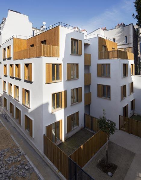 Passage de la Brie Housing by Explorations Architecture