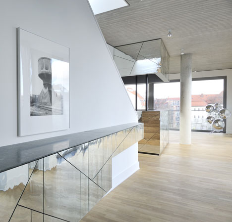 Penthouse apartment by Lecarolimited