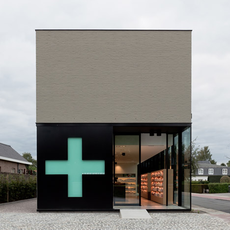 Pharmacy M by Caan Architecten - Dezeen