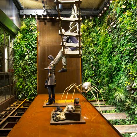 Replay By Vertical Garden Design And Studio 10 | Dezeen