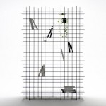 Scatter Shelf  by Nendo