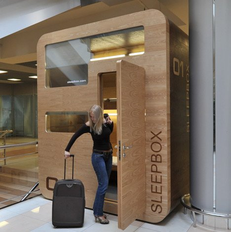 Sleepbox 01 by arch group dezeen for Google sleep pod price