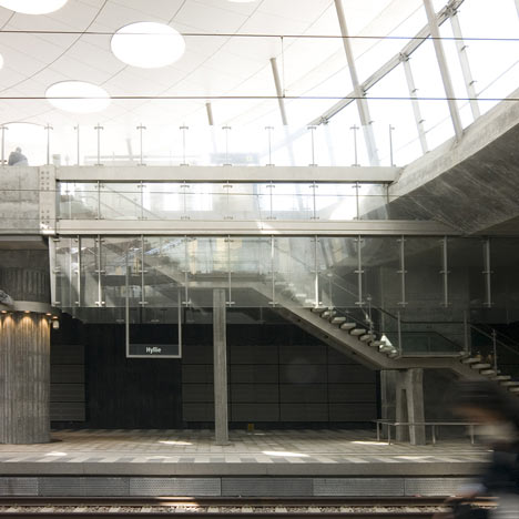 Station Hyllie by Metro Arkitekter