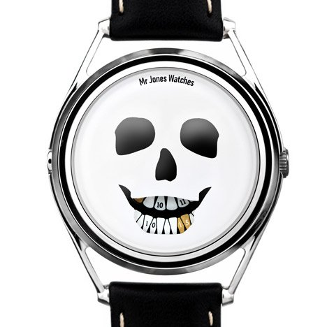 The Last Laugh by William Andrews for Mr Jones Watches at Dezeen Watch Store