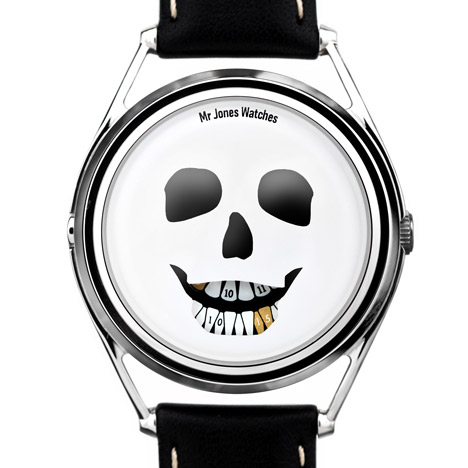 The Last Laugh by William Andrews for Mr Jones Watches at Dezeen ...