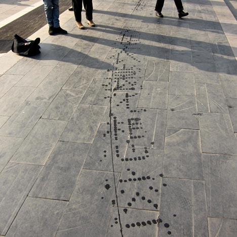 Water Calligraphy Device By Nicholas Hanna Dezeen