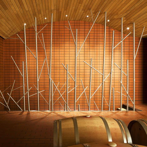 Wine Cellars for Vega-Sicilia by Salas Studio