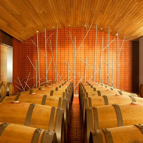 Wine Cellars for Vega-Sicilia by Salas Studio