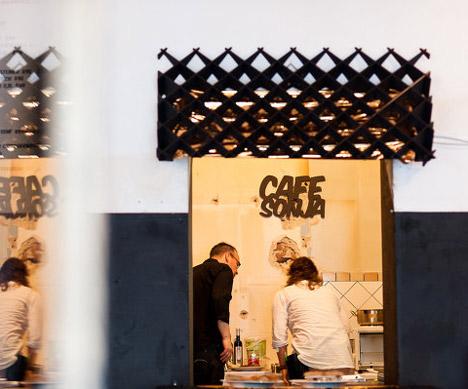 Cafe Sonja by PostlerFerguson