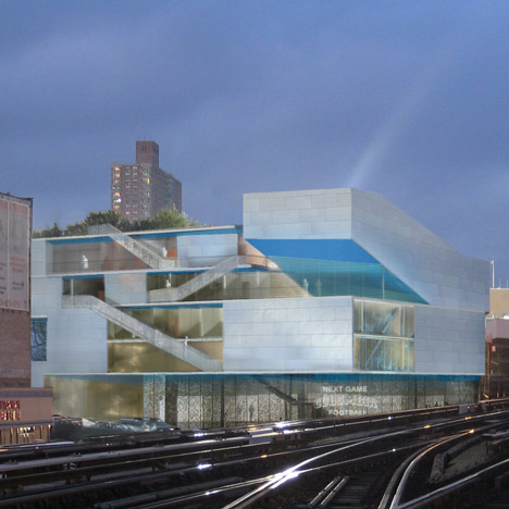 Campbell Sports Centre by Steven Holl Architects