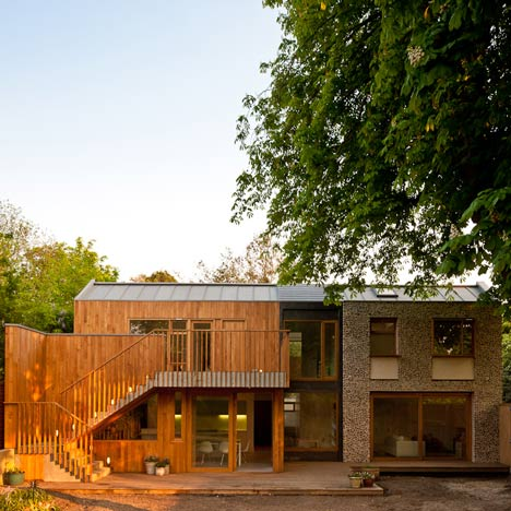 Flint House by Nick Willson Architects