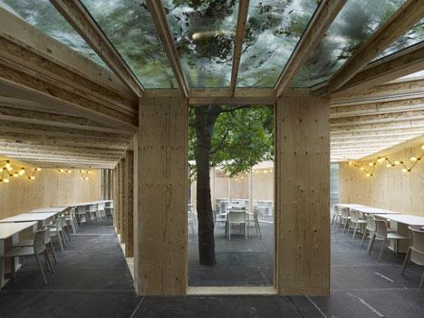 Frieze Art Fair Pavilions by Carmody Groarke