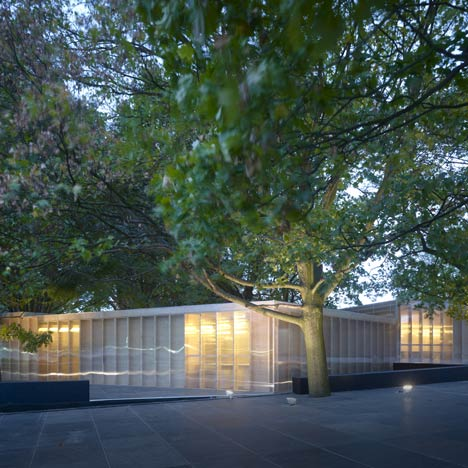 Frieze Art Fair Pavilions by Carmody Groarke