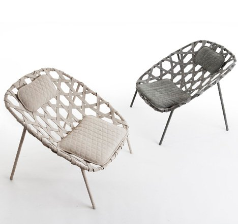 Furniture by Benjamin Hubert for De La Espada