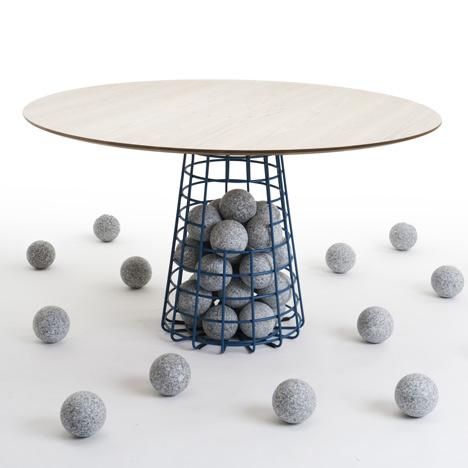 Furniture by Benjamin Hubert for De La Espada