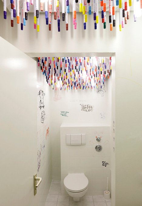 Webguerillas Toilets by TULP Design