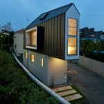House in Horinouchi by Mizuishi Architect Atelier