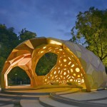 ICD/ITKE Research Pavilion at the University of Stuttgart