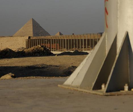 Pyramids by Manuel Alvarez Diestro