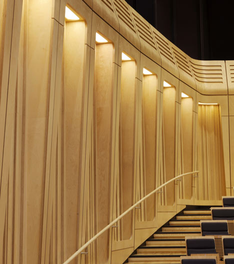 Royal Welsh College of Music and Drama by BFLS