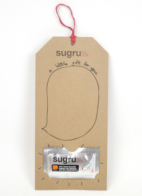 Sugru pop-up and giveaway
