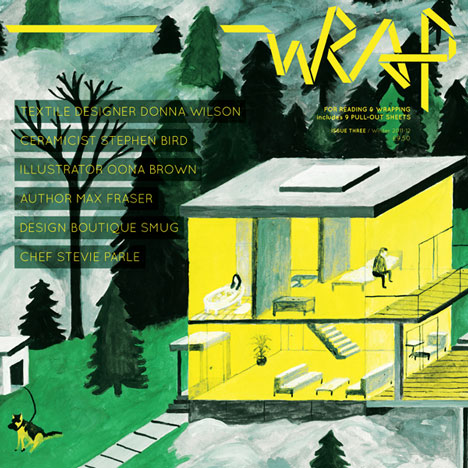 Today at Dezeen Platform: Wrap Magazine