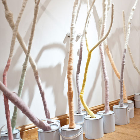 Wool Modern Installation by Not Tom