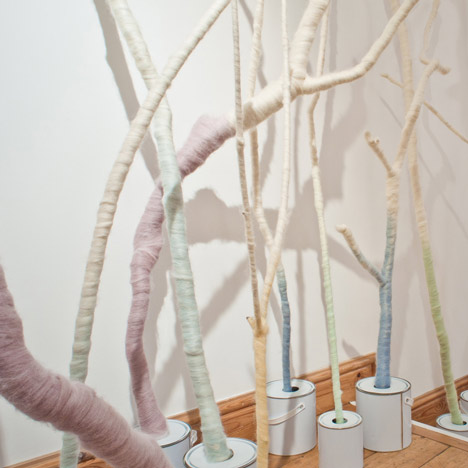 Wool Modern Installation by Not Tom