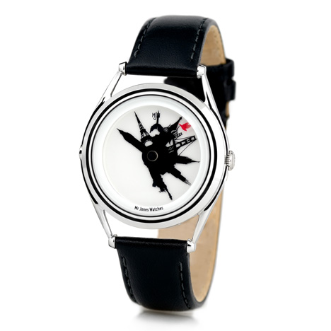 All around the world by Crispin Jones for Mr Jones Watches at Dezeen Watch Store