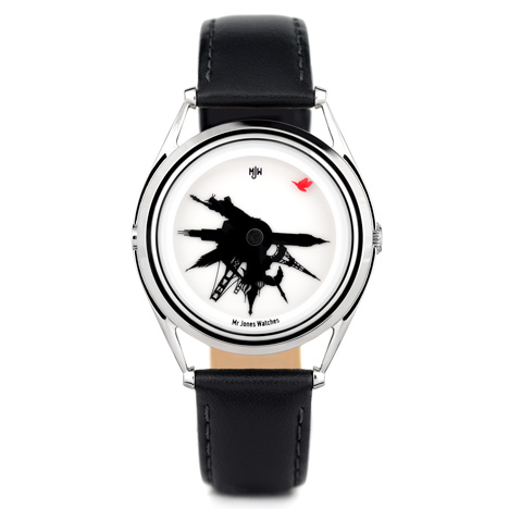 All around the world by Crispin Jones for Mr Jones Watches at Dezeen Watch Store