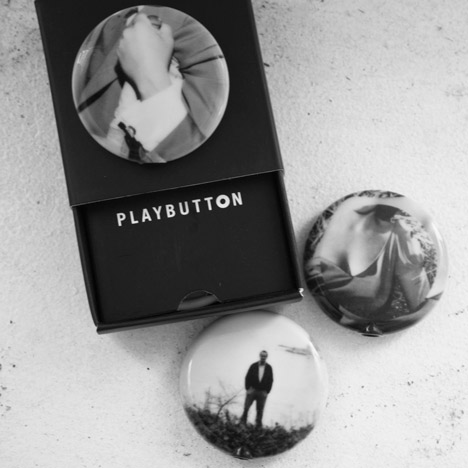 Playbutton musical badges at The Temporium