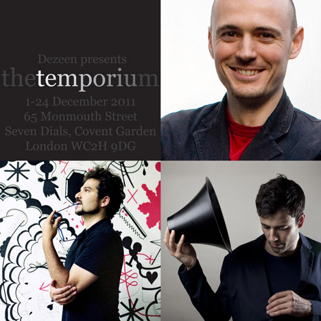 The Temporium: Dominic Wilcox, Jaime Hayon, Paul Cocksedge