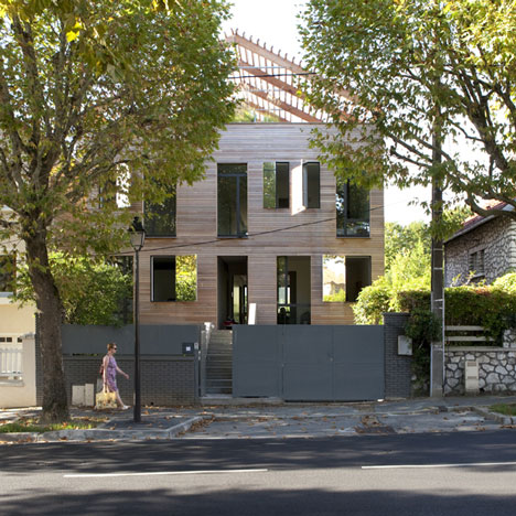 Eco-Sustainable House by Djuric Tardio Architectes