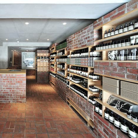 Dezeen's top 10 Aesop<br /> store designs