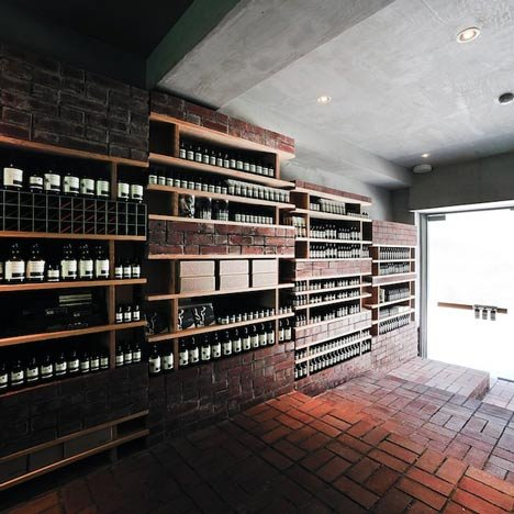 Aesop Ginza by Schemata Architecture Office