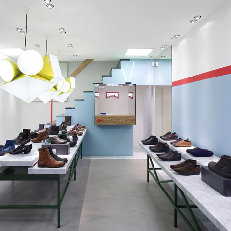 Camper store in Rome by Doshi Levien