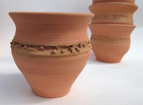 Chai pi ke puht cups by Sian Pascale