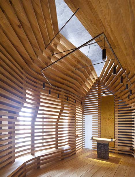 Chapel Tree of Life by Cerejeira Fontes Arquitectos