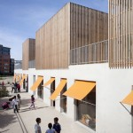 Gavroche centre for children by SOA Architectes