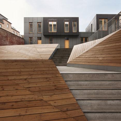 Industrial Le le lorrain by mdw architecture dezeen