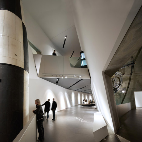 Dresden Museum of Military History by Daniel Libeskind