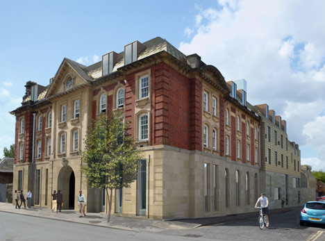 Exeter College by Alison Brooks Architects