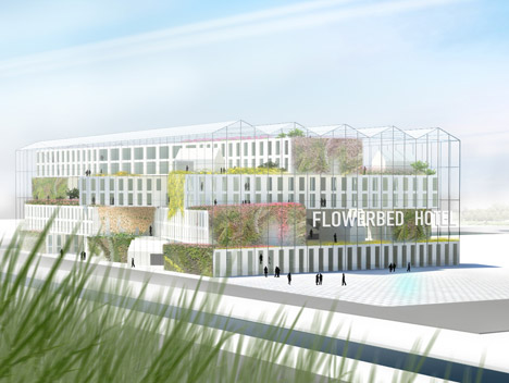 Flowerbed Hotel by MVRDV