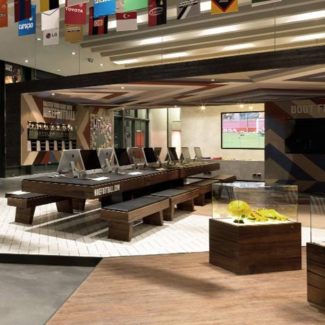 Inside awards: Football Training Centre Soweto by RUFproject