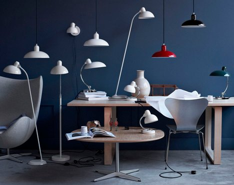 Kaiser Idell Luxus lamp by Republic of Fritz Hansen to be won