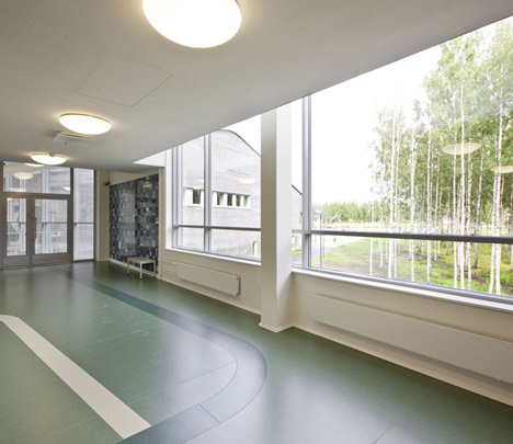 Kannisto School by Linja Architects
